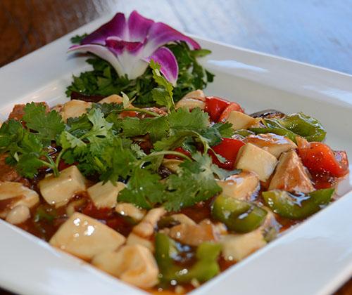 m19. cilantro tofu