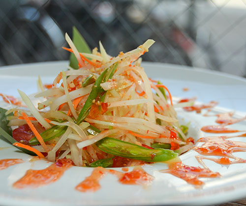 s14. green papaya salad